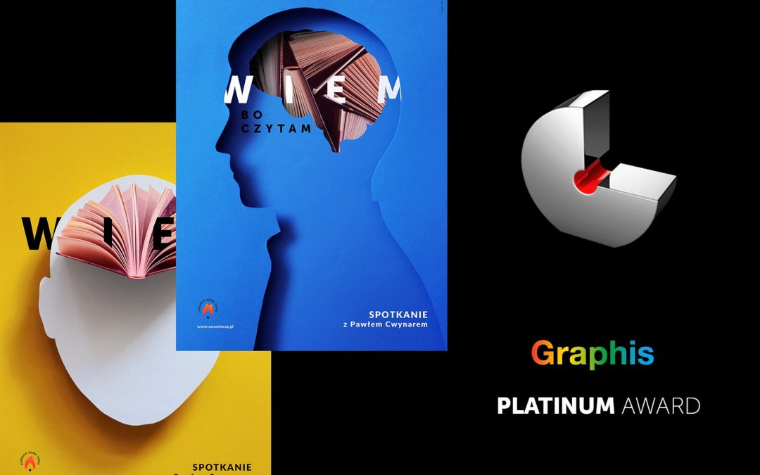 Good news from USA! I won Platinum and Gold Award in Graphis Poster Annual 2022!